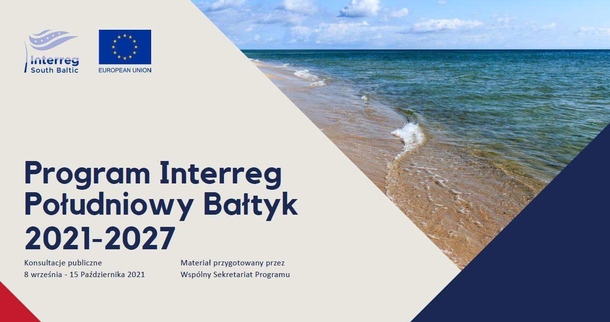 ENGAGE! poleca udział w Konferencji regionalnej projektu programu Interreg Południowy Bałtyk 2021-2027